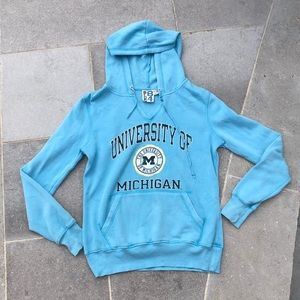 💜 3/25$ Bright Blue University of Michigan Hoodie